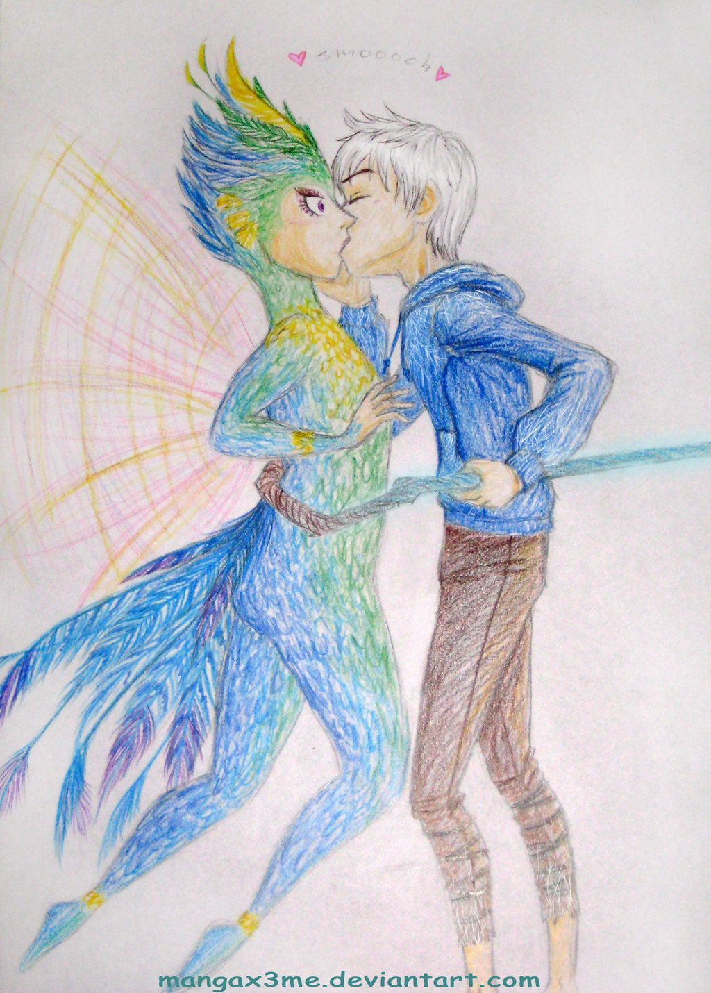 image result for rise of the guardians jack frost x tooth