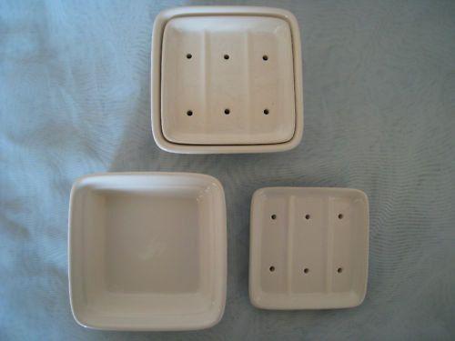 Ceramic Soap Dish For Square Soaps Jabonera De Ceramica Jaboneras Alfareria De Ceramica