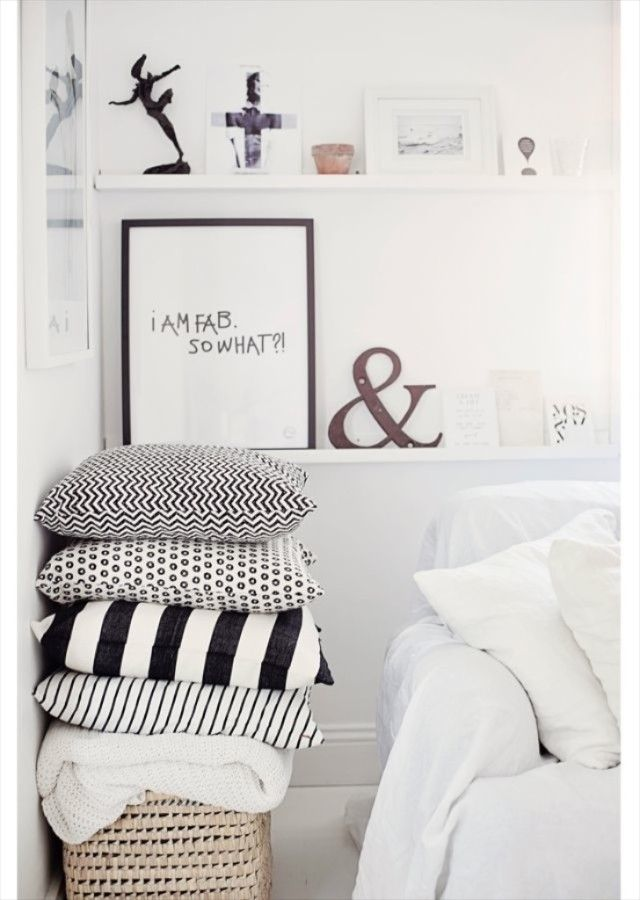 slaapkamer scandinavisch, slaapkamer deens, witte slaapkamer ...