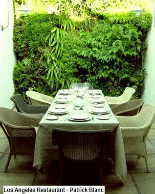 Vertical Wall Garden By Patrick Blanc, La Bastide Los Angeles