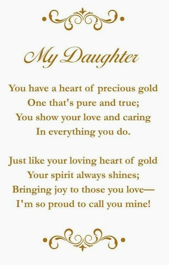 for my amazing daughter   Parents   Birthday quotes for