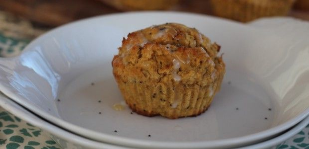 GF- PaleOMG – Paleo Recipes – Lemon Poppyseed Acorn Squash Muffins