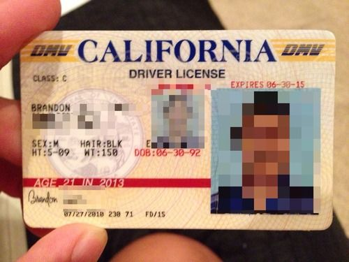 Happy Customer California A Chief Id Fake Ids Id From
