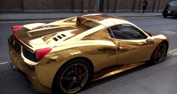 Gold Plated Luxury Cars That Show A Style Beyond Luxury With