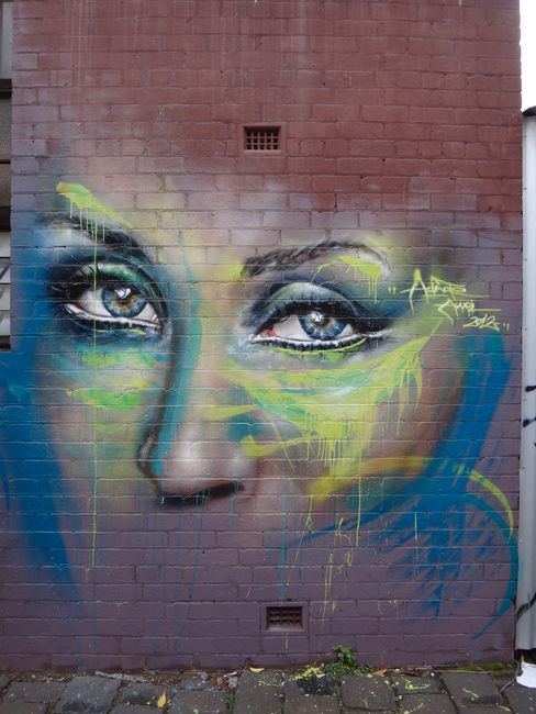 Characters By Adnate - Melbourne (Australia)