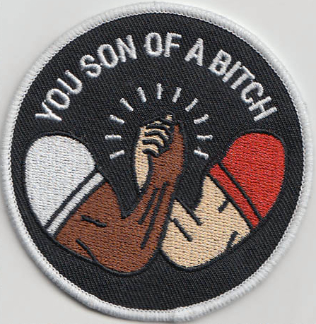 Parkour Embroidered PATCH//BADGE