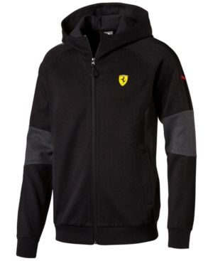 Puma Men's Ferrari Zip Hoodie - Black XL