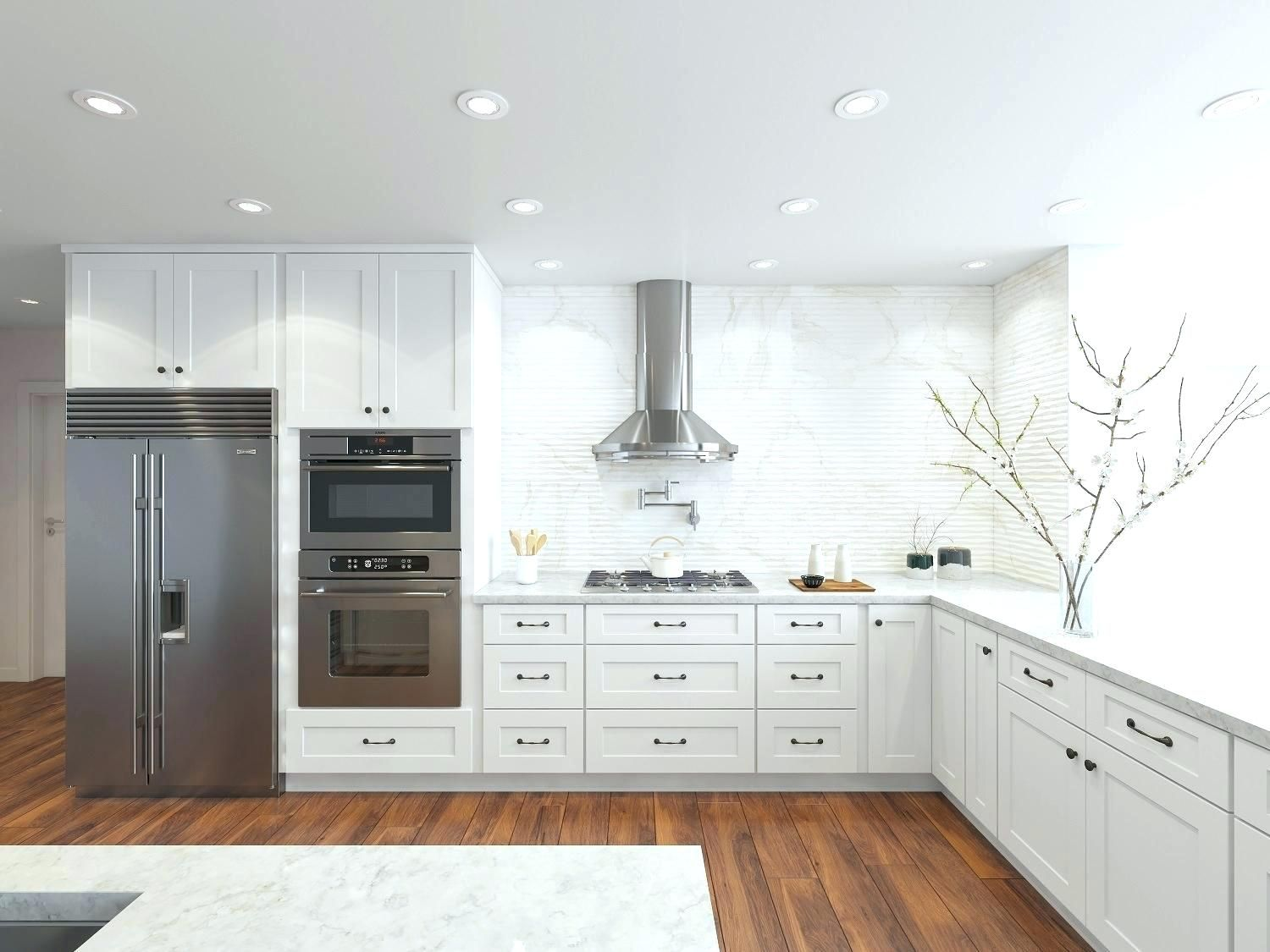 White Kitchen Cabinets Lowes Timeless And Classic These Are The Most Popu White Shaker Kitchen Cabinets Shaker Style Kitchen Cabinets Kitchen Cabinet Styles