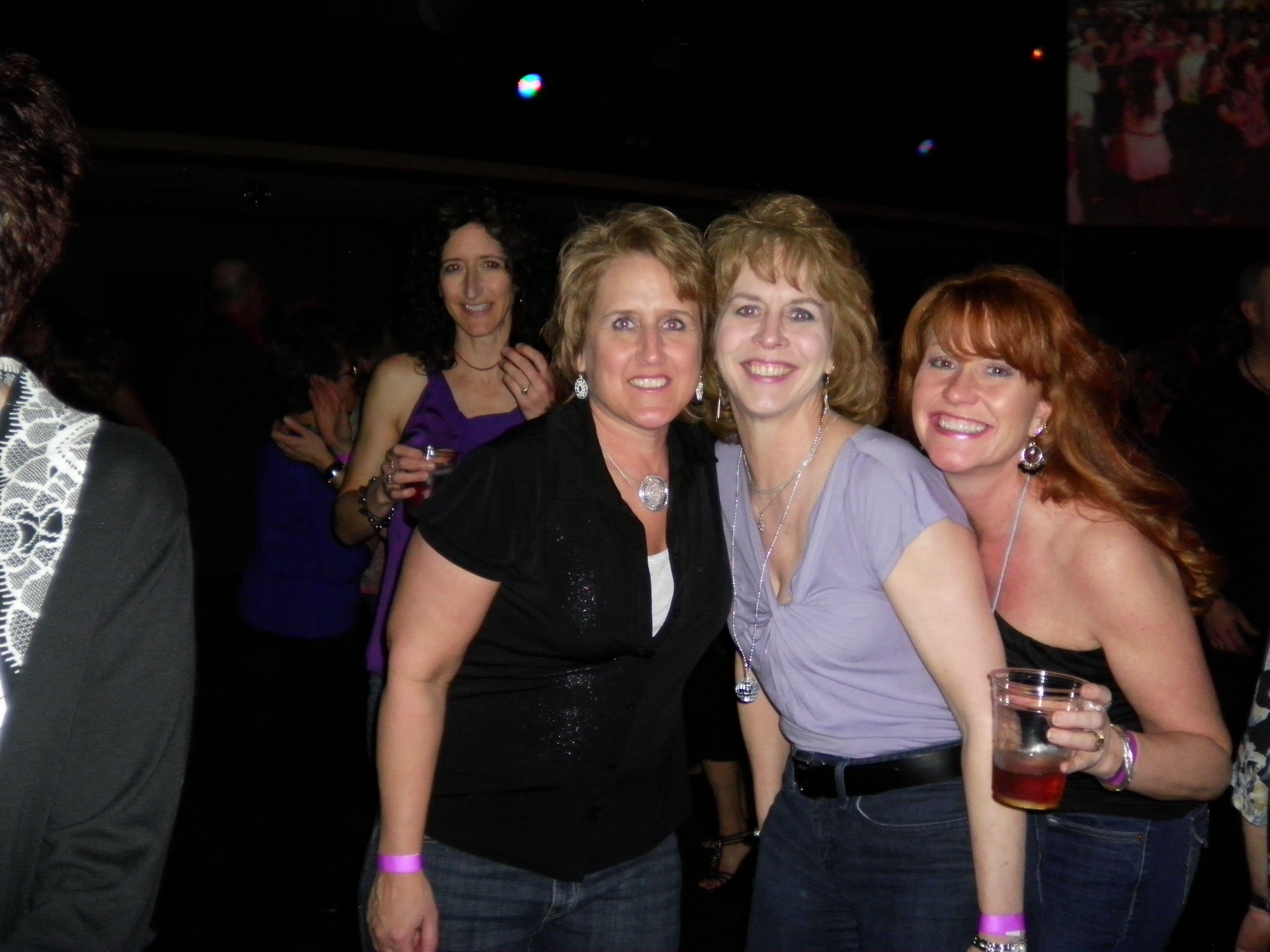 Beth my golf buddy and Sue my KOP pal