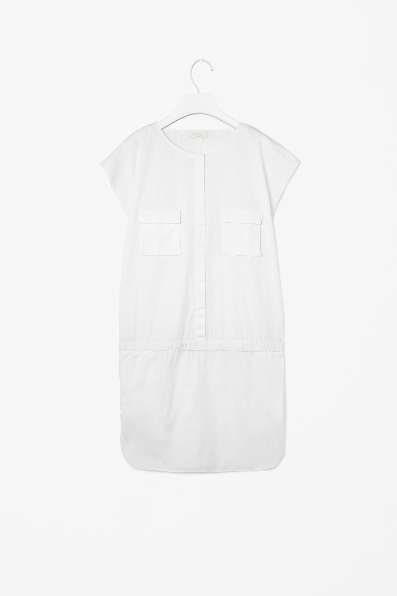 Dropped waist dress