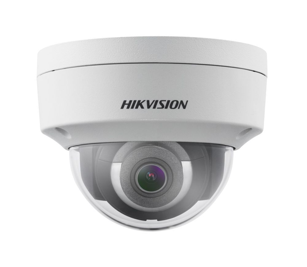 Hikvision Ds 2cd2123g0 I 2 8mm 2mp Exir Network Dome Camera H 265 Weatherproof Home Security Systems Wireless Home Security Systems Wireless Home Security
