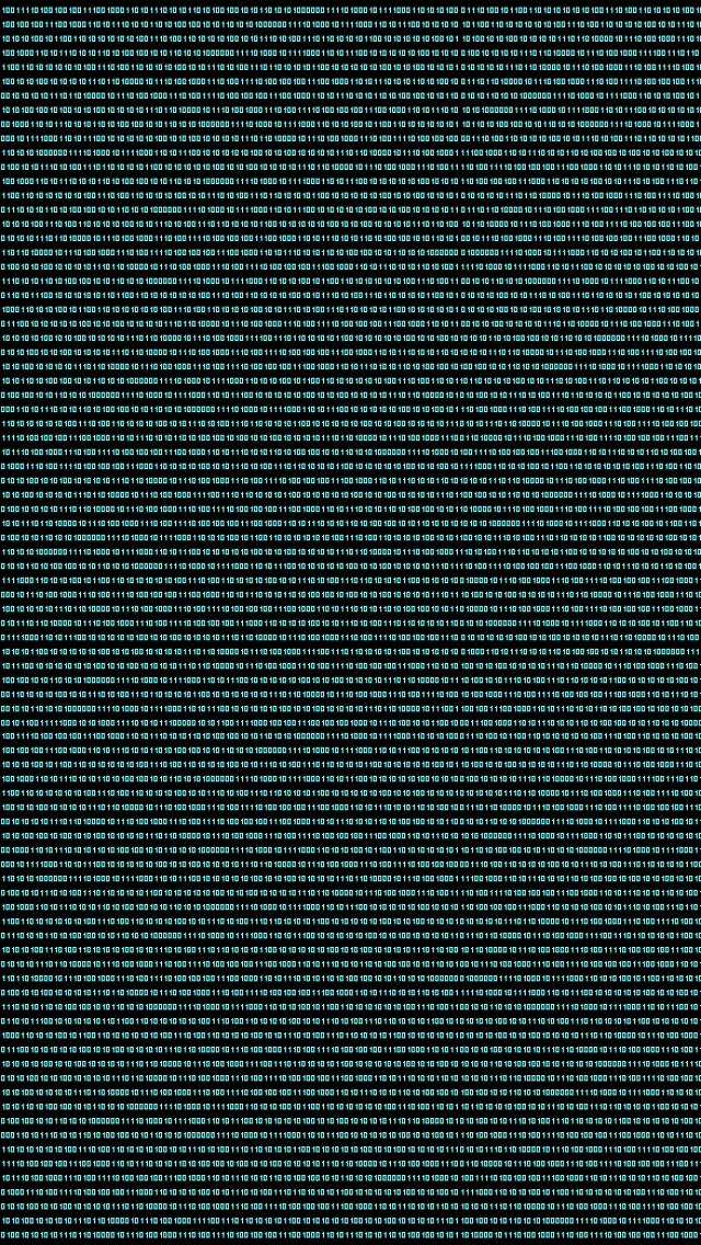 D Binary Code ock Illustration