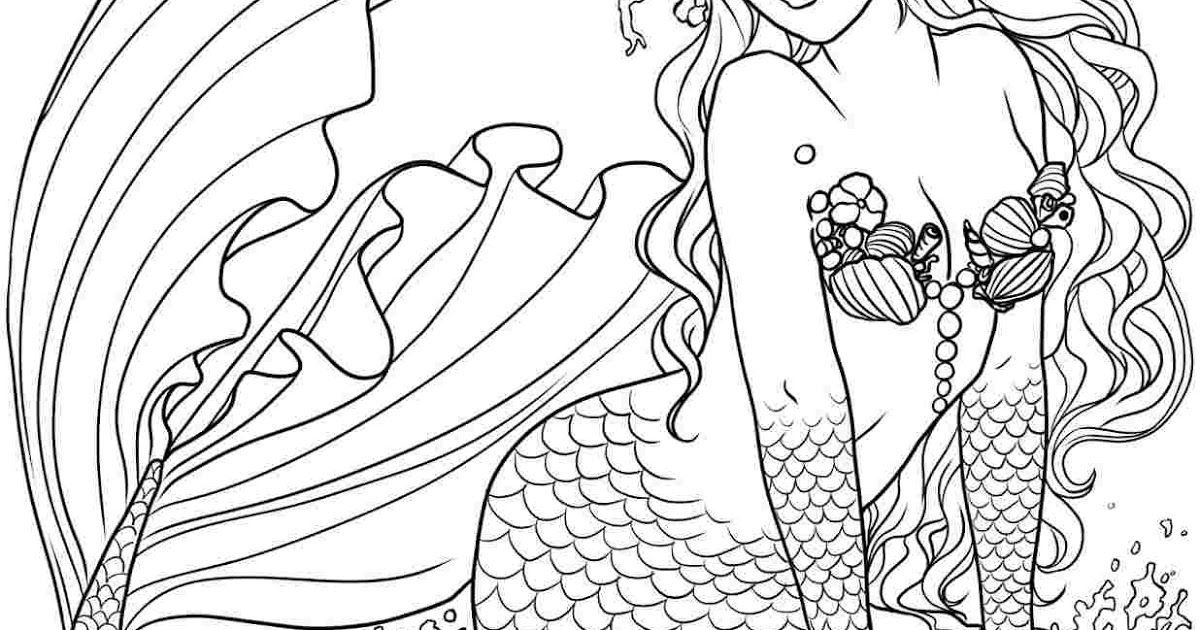 Colouring Pages For Mermaids Free Printable Mermaid Coloring Top 25 Free Printable Little In 2020 Mermaid Coloring Pages Fairy Coloring Pages Monster Coloring Pages