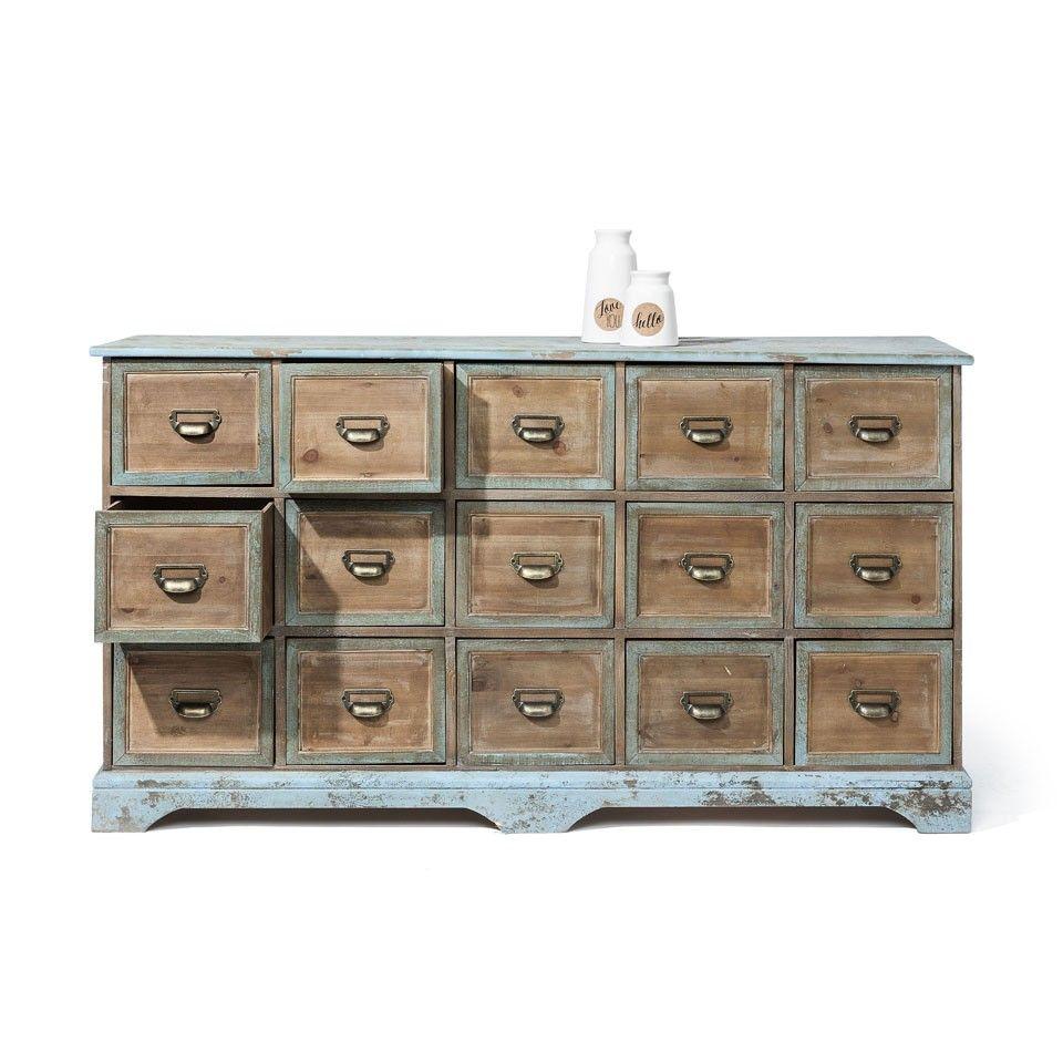 apothekerskast 15 laden | xenos | new home | living room, Badezimmer ideen