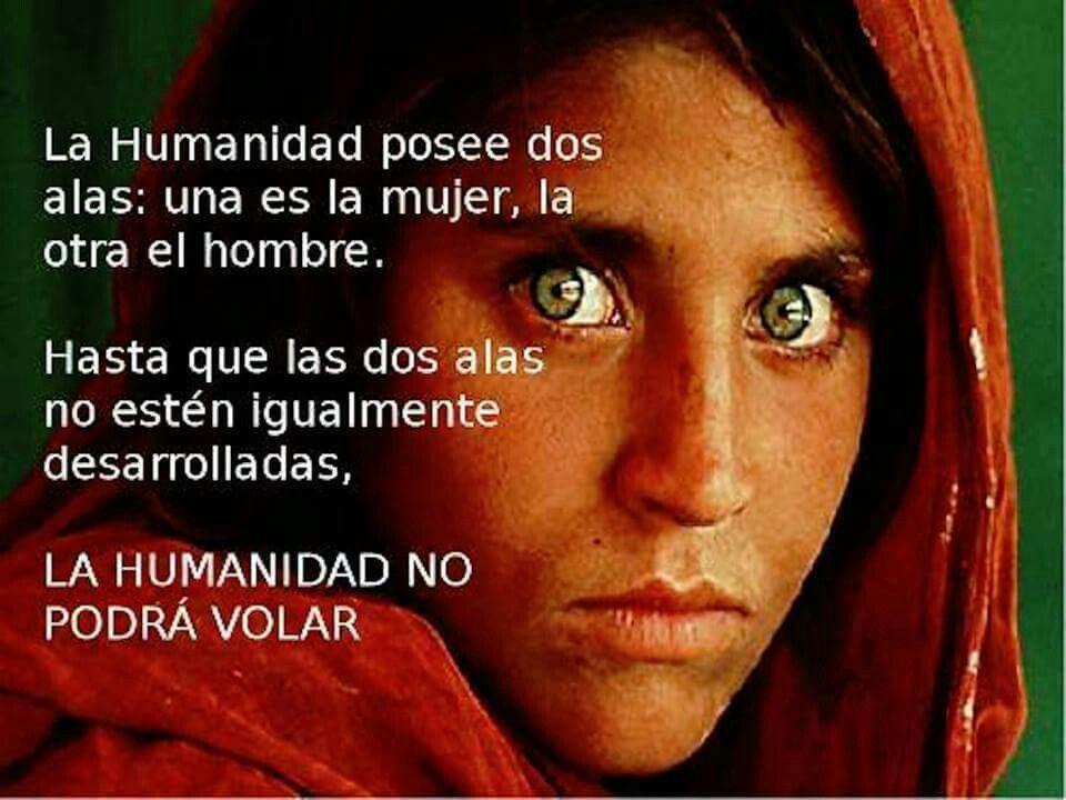 La humanidad ...