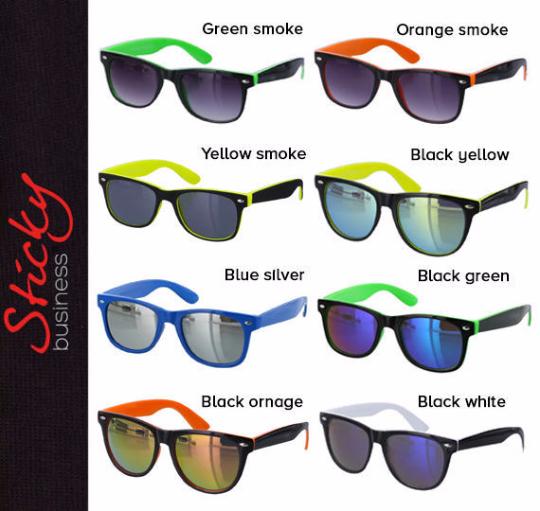 Cool Cheap Sunglasses Mirrored Wedding Reflective Lens Party Beach Favor Retro