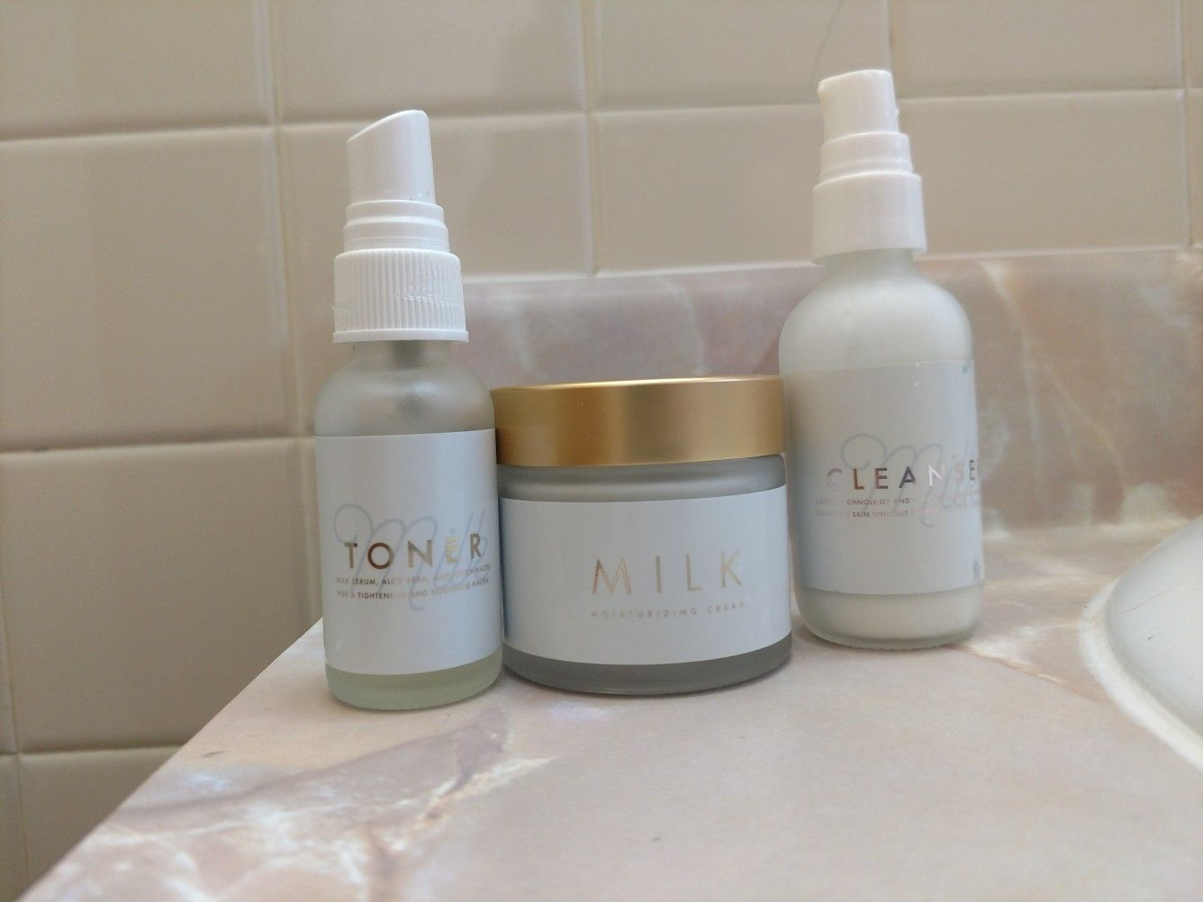 I love tres leches skin care from maskcara definitely has