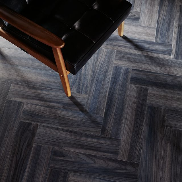 Ink Wash Wood In A Parquet Laying Pattern From Amtico Signature
