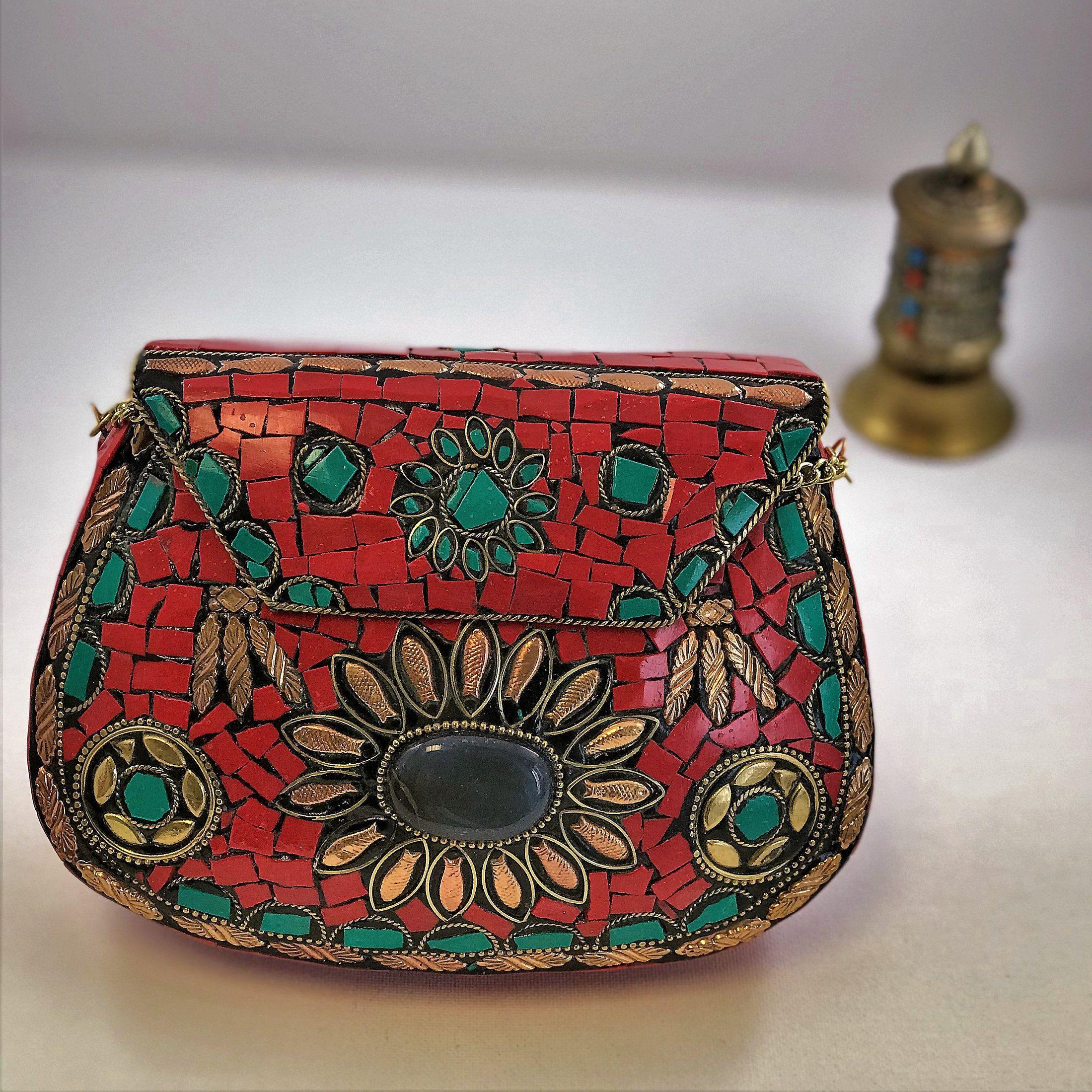 17de1f890e52e Beautiful Kuchi #Clutch Metal Bag. #Ethnic Clutch. Tribal Bag. Clutch Bag. # Metal #Bag. #Evening #Clutch #purse. #bagsandpurses #clutch ...