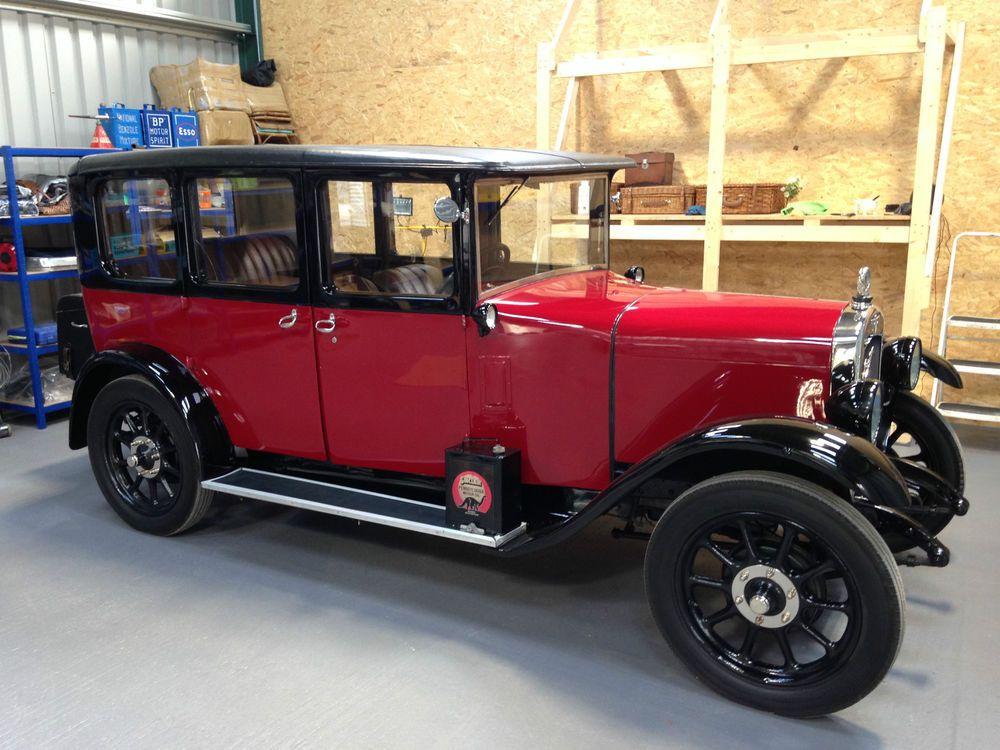 1929 vintage austin 12/4 heavy 4 door burnham saloon. classic ...