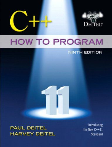 C How To Program Early Objects Version 9th Edition Deitel How To Program Introduction To Programming Book Program Download Books