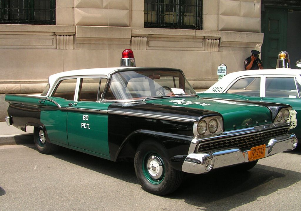 1959 Ford Custom 300 New York City police car d | CLASSIC CARS ...