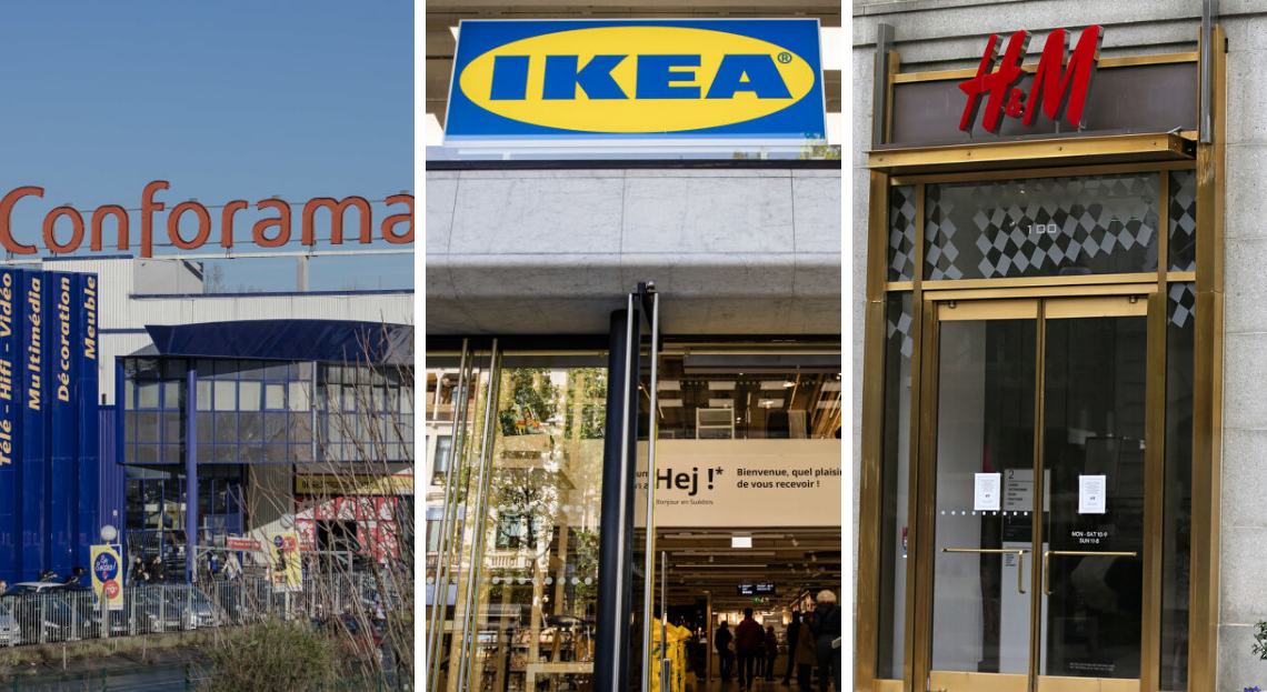 Ikea H M Home Conforama Voici La Liste Des Enseignes Deco Qui Ne Sont Pas Encore Ouvertes En 2020 Conforama Chambre Parentale Moderne H M Home
