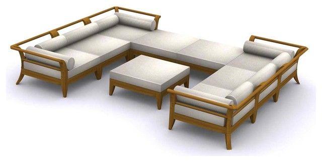 Teak Outdoor Sofa With Outdoor Sofas 4