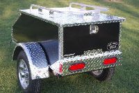 Nomad Motorcycle Trailers Motorcycle Trailer Pull Behind