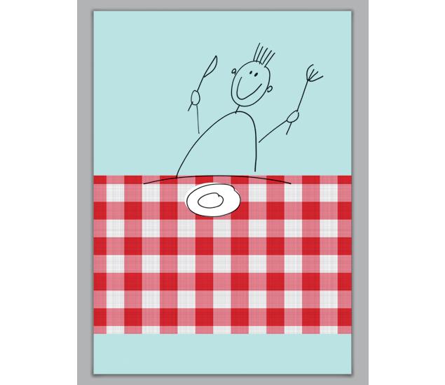 Lustige Essens Einladungskarte - http://www.1agrusskarten.de/shop ...