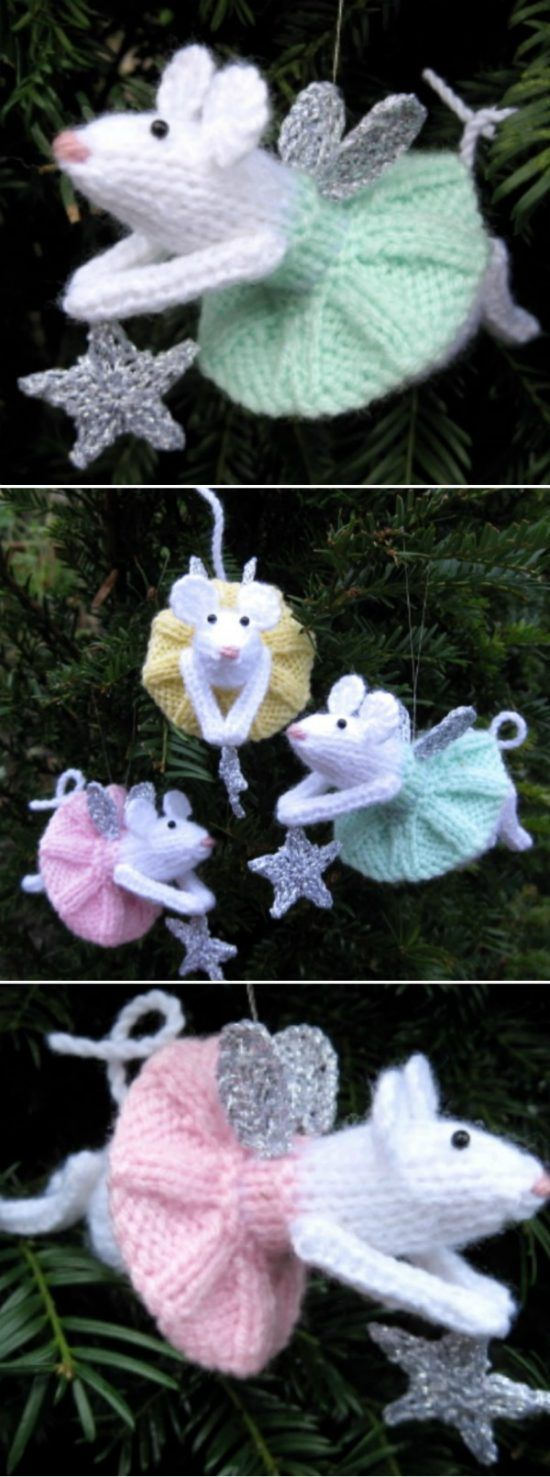 Knitted Mouse Free Pattern Video Tutorial Lots Of Ideas #knittedtoys