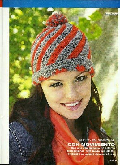 f551618a6e113 La Magia del Crochet  REVISTA DE GORROS A CROCHET PARA MUJER