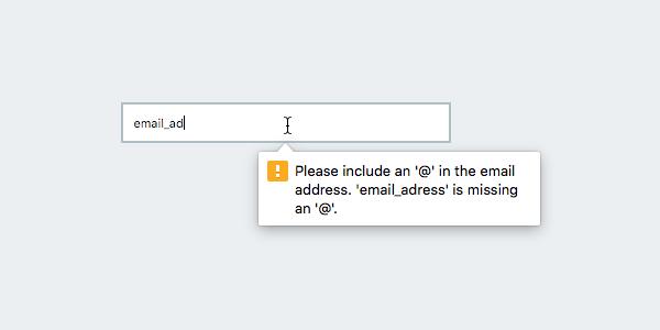 HTML5 Form Validation with the pattern attribute