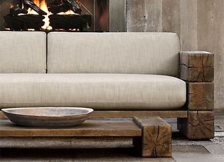 Image For Rustic Wooden Sofa 1000 Ideas About Outdoor Couch On Pinterest Couch Outdoor Rustic Sofa Modern Rustic Furniture Rustic Outdoor Furniture