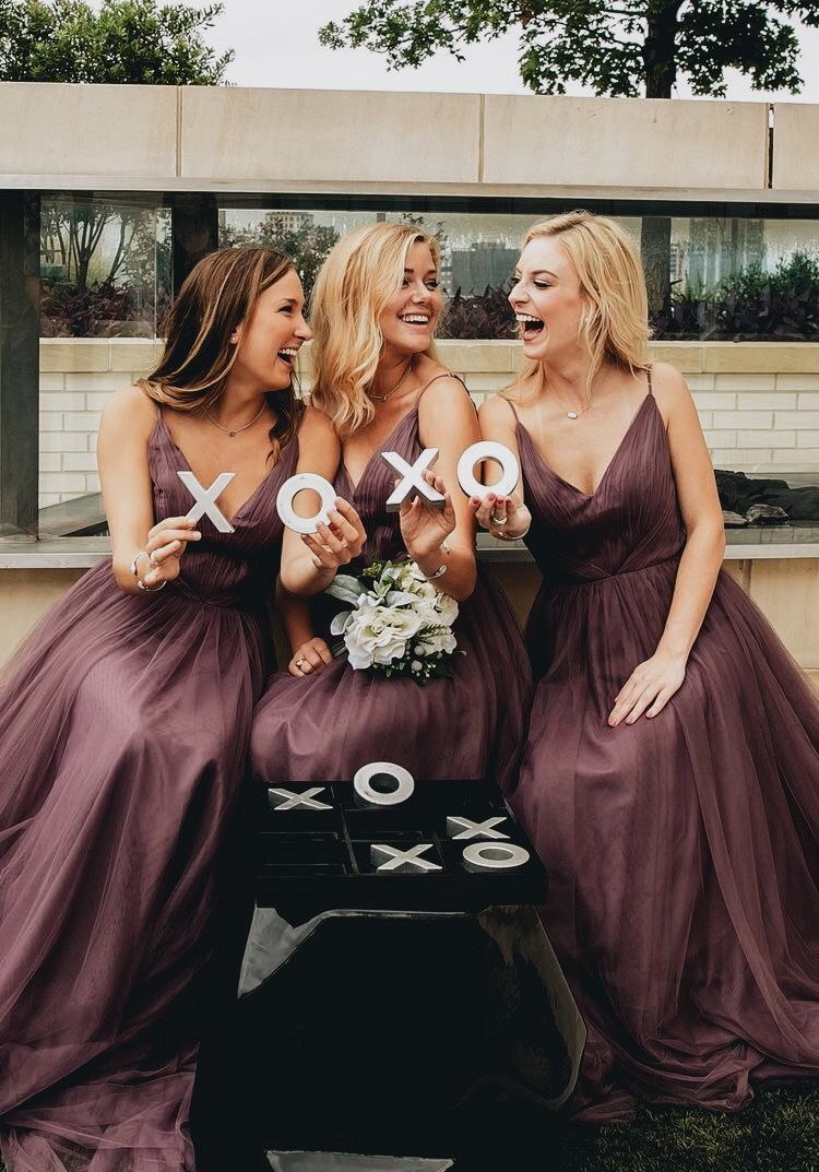 Bridesmaid xoxo bridesmaid or mother dresses and flowers girls