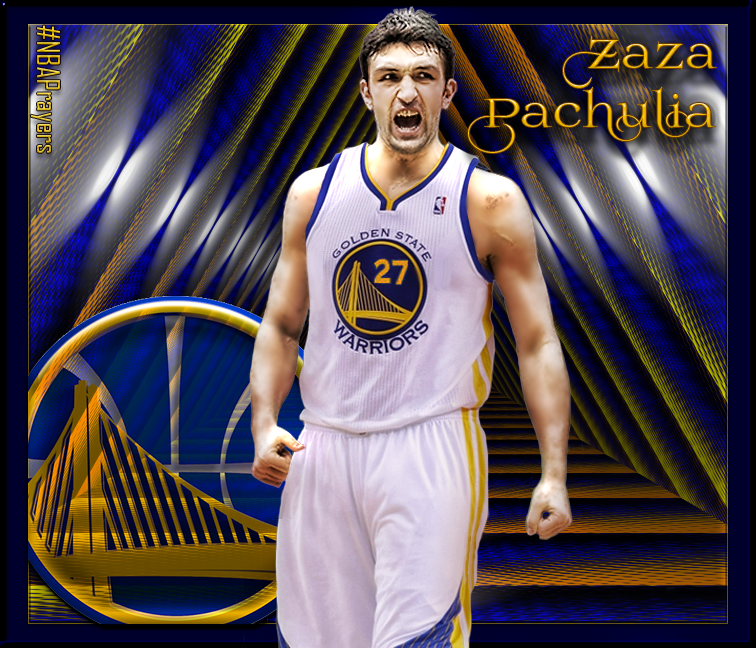 Knight Basketball Player Wallpaper: NBA Player Edit - Zaza Pachulia