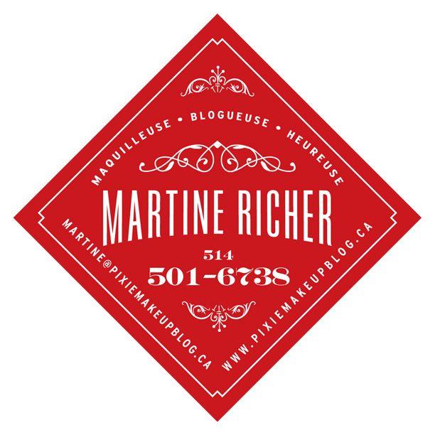 PIXIE MAKE UP BLOG Maquilleuse Professionnelle O Makeup Artist Carte De Visite Business Card