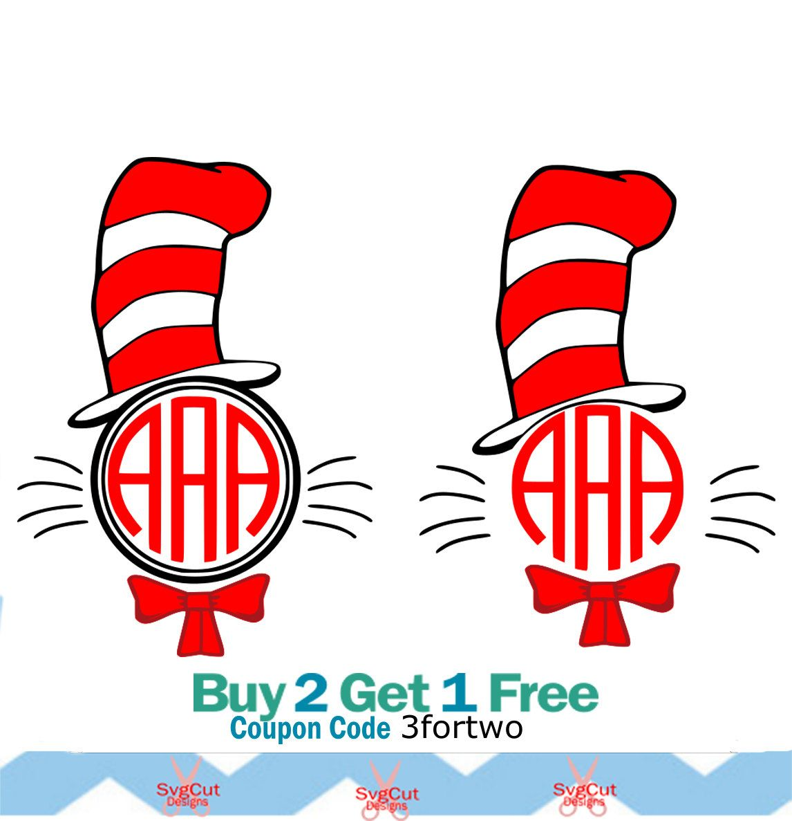 cat in the hat svg dr seuss monogram shirt design svg files rh pinterest com Dr. Seuss Thing 1 Clip Art Dr. Seuss' Horton Clip Art