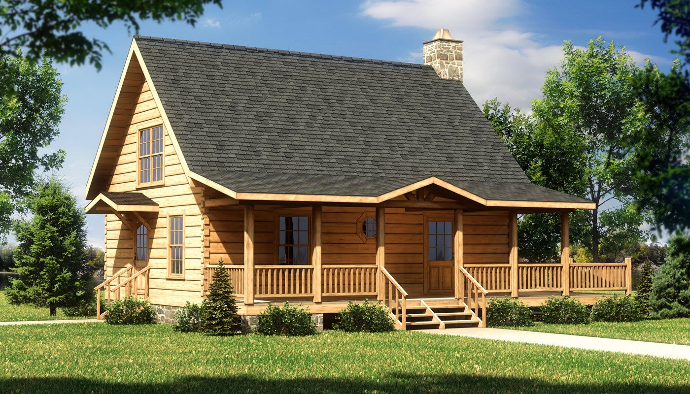 The Alpine II Log Home Is A Beautiful One Bedroom Cabin Perfect For The  Couple That Enjoys Getting Away From It All.