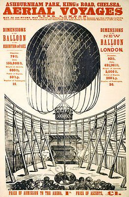 Aerial-Voyages-vintage-ballon-event-poster-repro-20x30