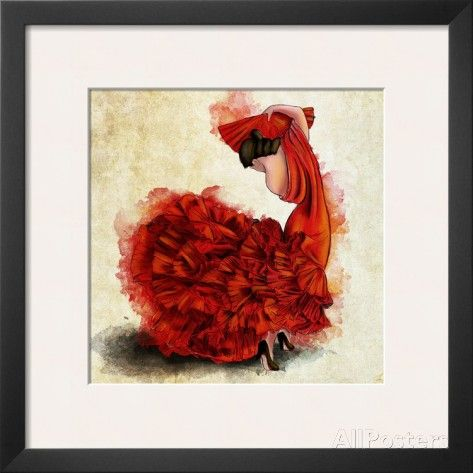 Flamenco del Fuego I Prints at AllPosters.com