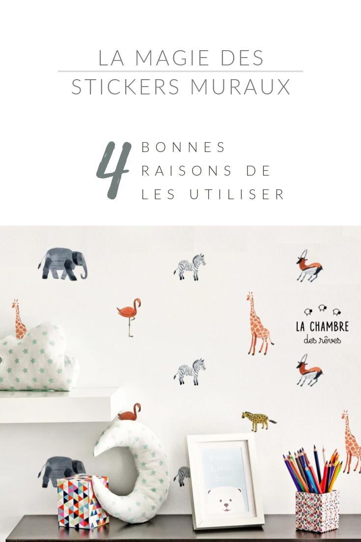 Stickers Muraux Chambre Bébé la magie des stickers muraux : décorer la chambre de bébé