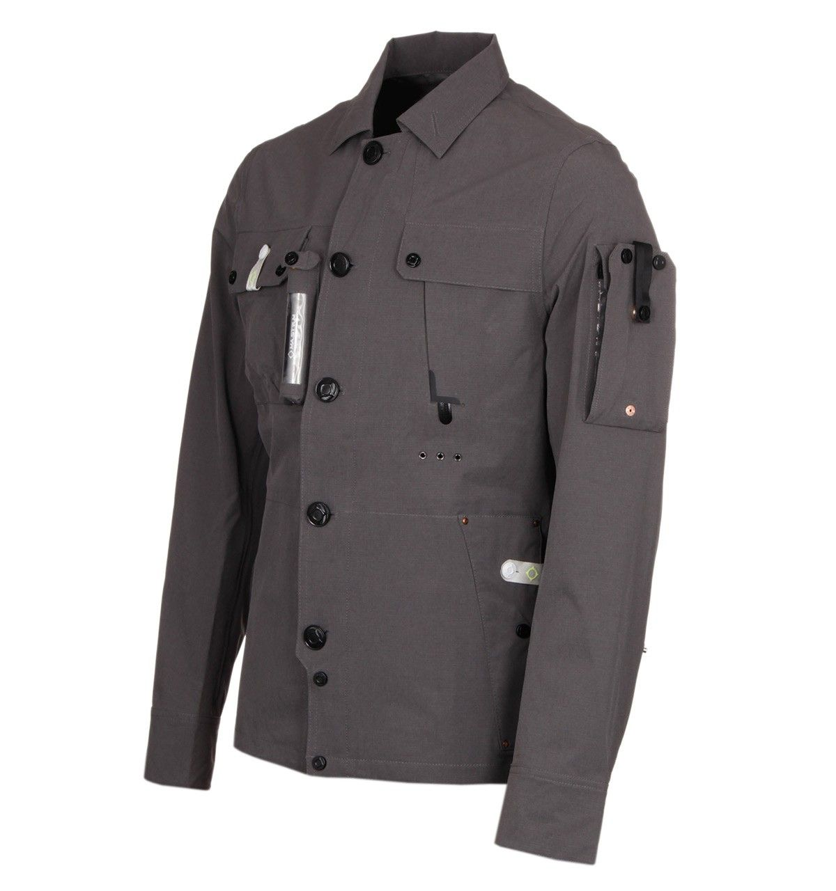 Ma Strum Battleship Grey All Weather Overshirt Stone Island Jacket Battleship Clothes
