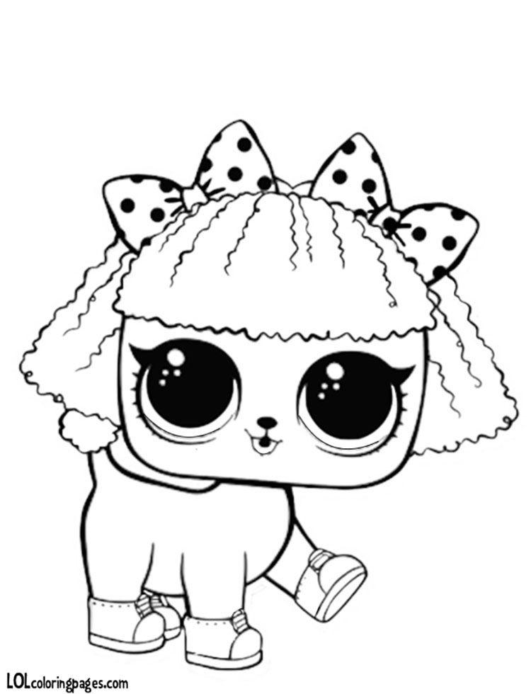 ЛОЛ раскраска щенок | Раскраски, Куклы, Рисунки для ...