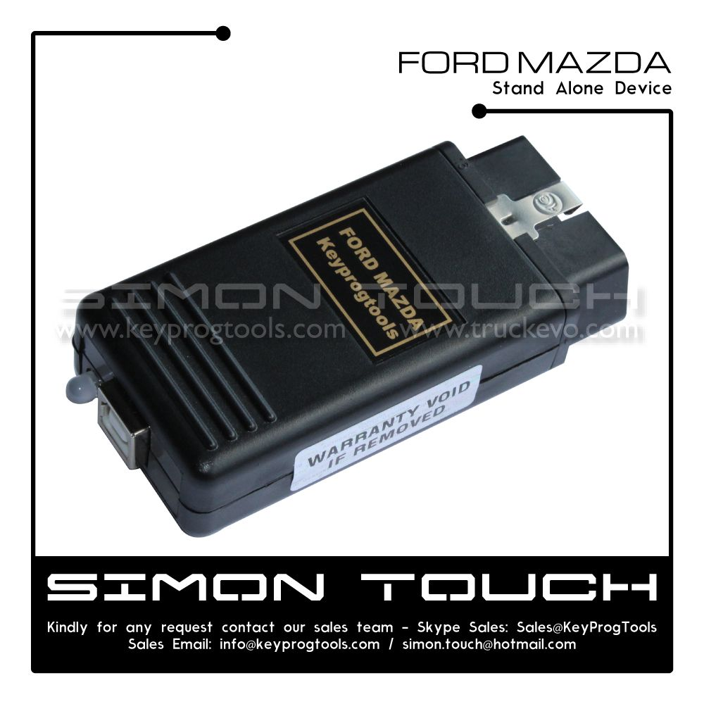 Ford Mazda Key programmer plug and play stand alone device