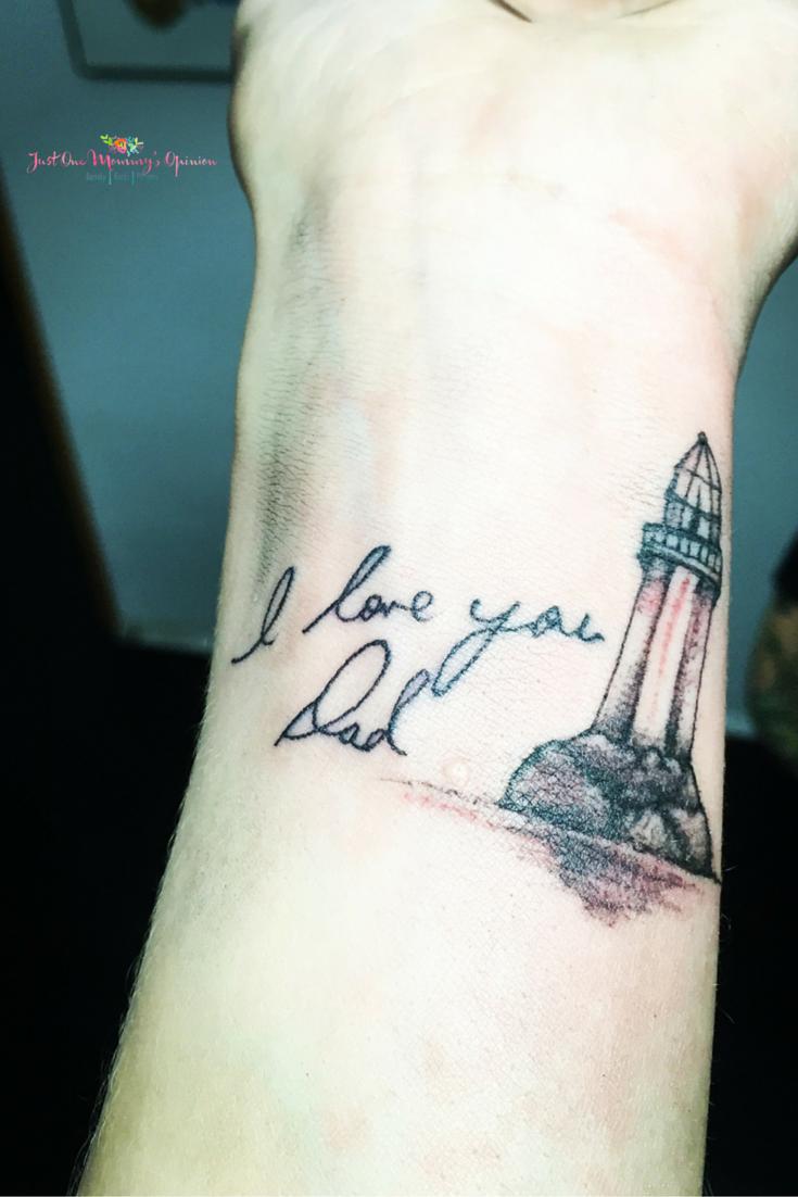 Wrist Tattoo, Memorial Tattoo, Lighthouse Tattoo #Myfirsttattoo ...