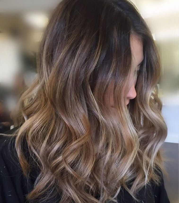 Balayage Hairstyle Fair Soft Layers And Balayage Brown Hair  Pinterest  Brown Hair