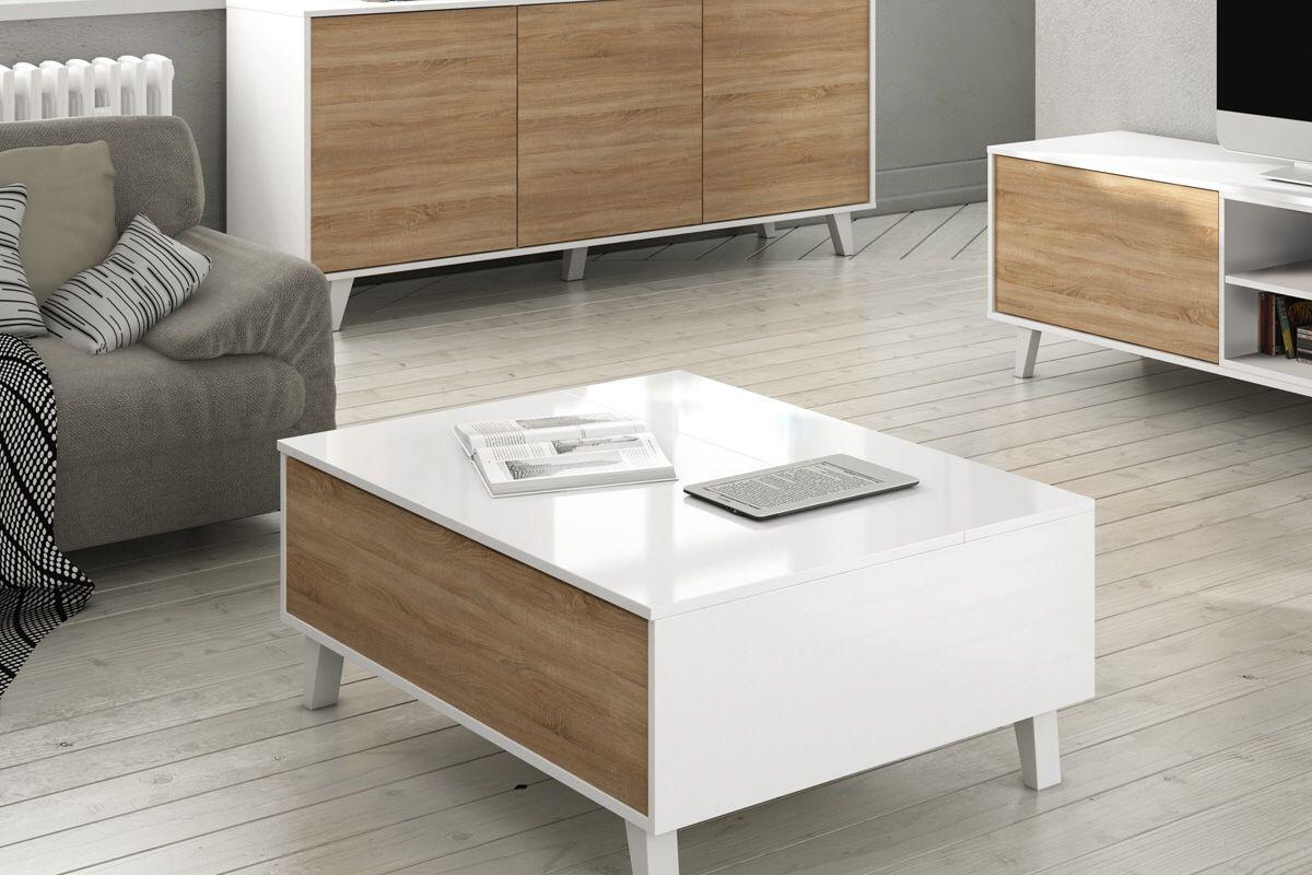 Hello J Ai Pens Toi J Ai Trouv Table Basse Epoque Imitation  # Table Basse Tele Simple