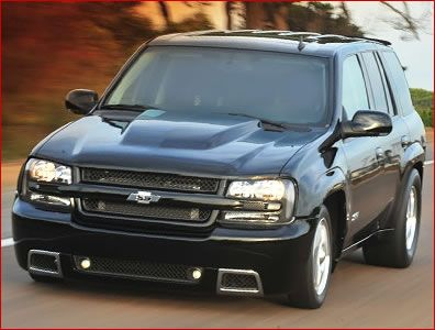 MPD Cowl Style Hood 07-09 Chevy Trailblazer SS | scoots | Chevy