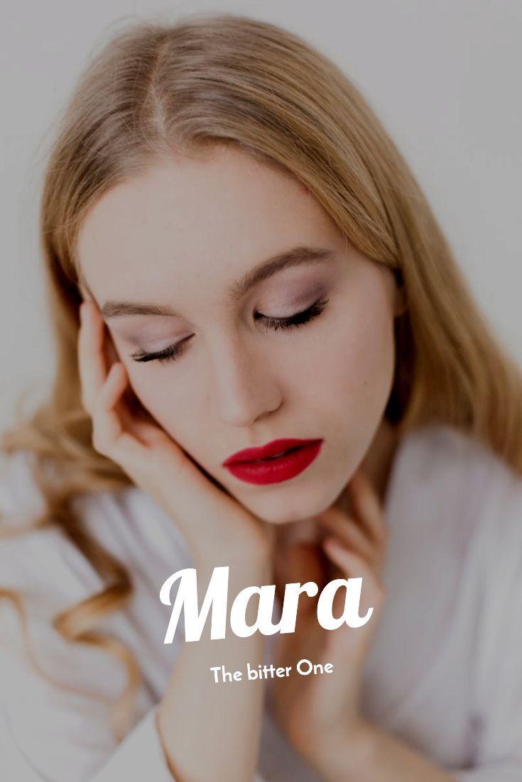 Girl Names  Stuff for Girls Mara  The bitter One